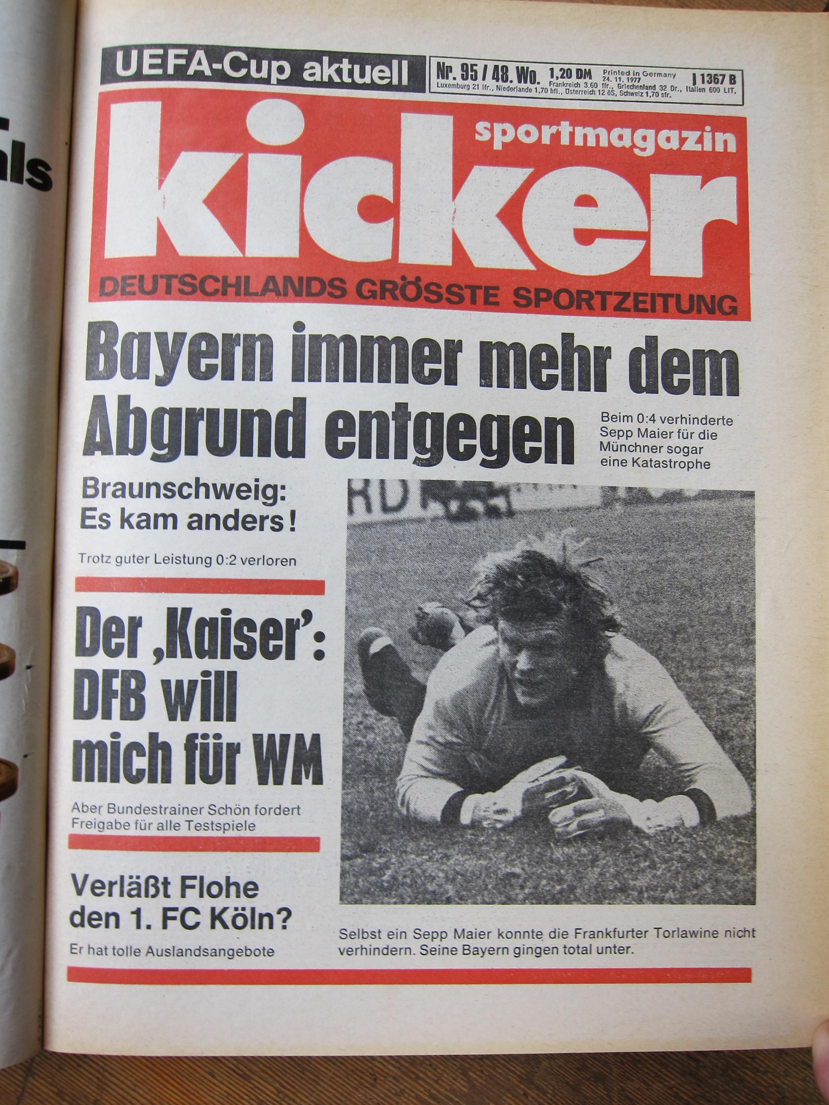 HSV vs. BAYERN MÜNCHEN – ZWEI RÜCKBLICKE